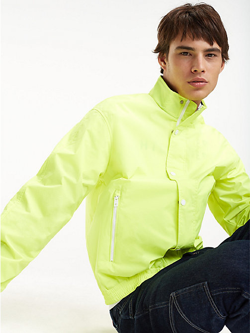 TOMMY JEANS Mesh Trainer Jacket - SAFETY YELLOW - TOMMY JEANS Coats & Jackets - main image