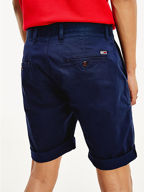 TOMMY JEANS Regular Fit Chino-Shorts - BLACK IRIS - TOMMY JEANS Hosen & Shorts - main image 1