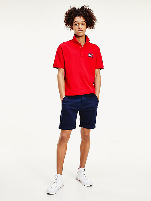 TOMMY JEANS Regular Fit Chino-Shorts - BLACK IRIS - TOMMY JEANS Hosen & Shorts - main image