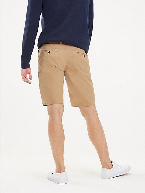 TOMMY JEANS Korte regular fit chino - TIGER'S EYE - TOMMY JEANS Broeken - detail image 1