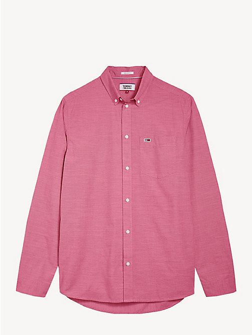 TOMMY JEANS Camicia in popeline Tommy Classics - SAMBA - TOMMY JEANS Camicie - dettaglio immagine 1