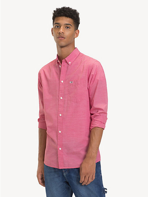 TOMMY JEANS Camicia in popeline Tommy Classics - SAMBA - TOMMY JEANS Camicie - immagine principale