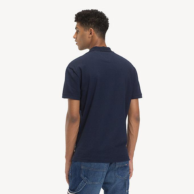 f309f4c2e Tommy Jeans Placket Polo Shirt