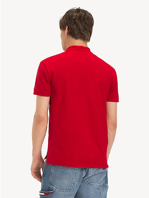 TOMMY JEANS Tommy Jeans Placket Polo Shirt - SAMBA - TOMMY JEANS T-Shirts & Polos - detail image 1