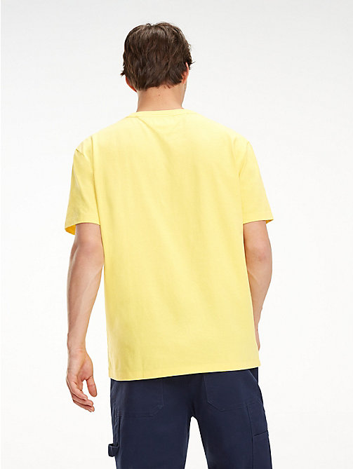 TOMMY JEANS Tommy Classics Pocket T-Shirt - ASPEN GOLD - TOMMY JEANS Sustainable Evolution - detail image 1