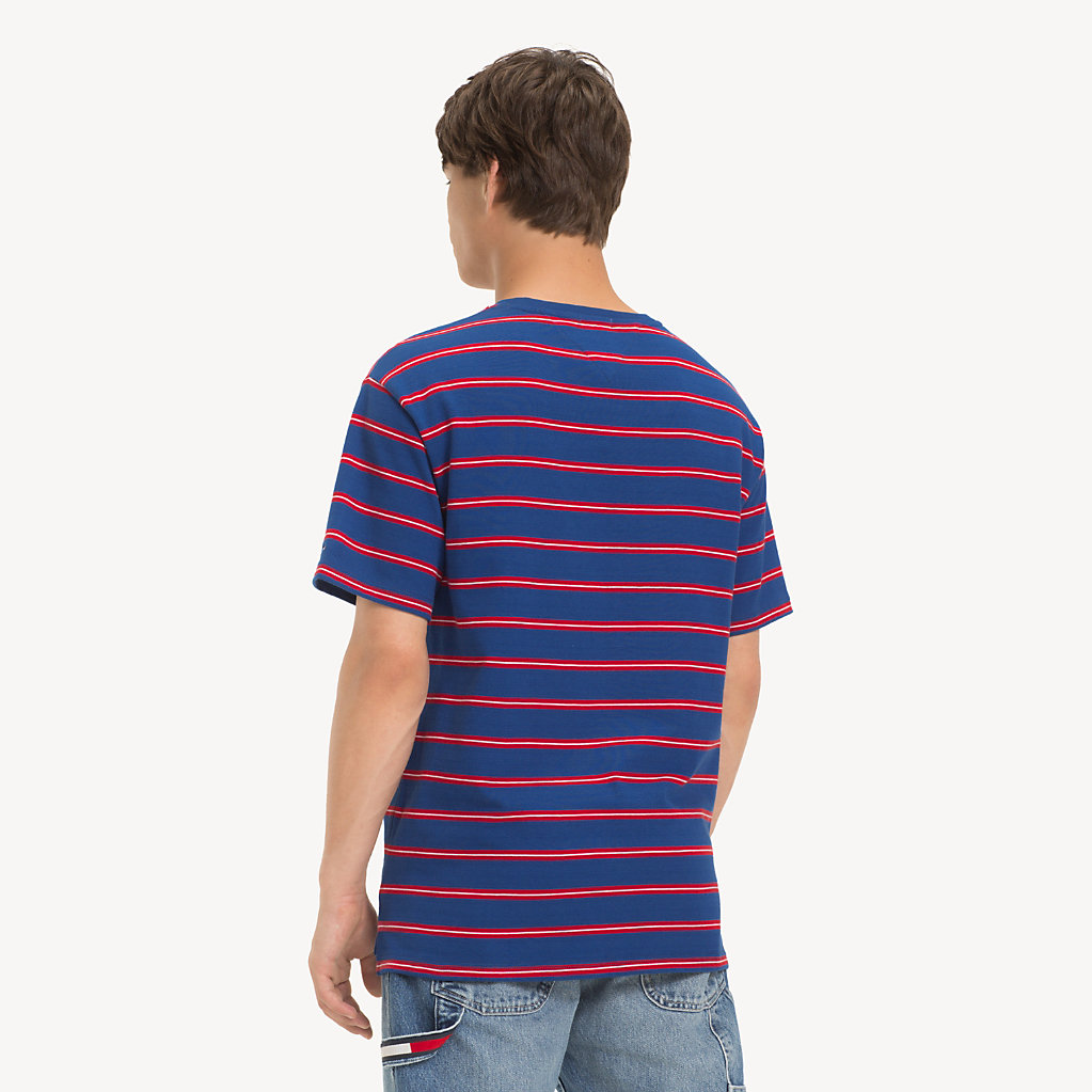 Tommy Hilfiger - T-Shirt mit mehrfarbigen Streifen - 2