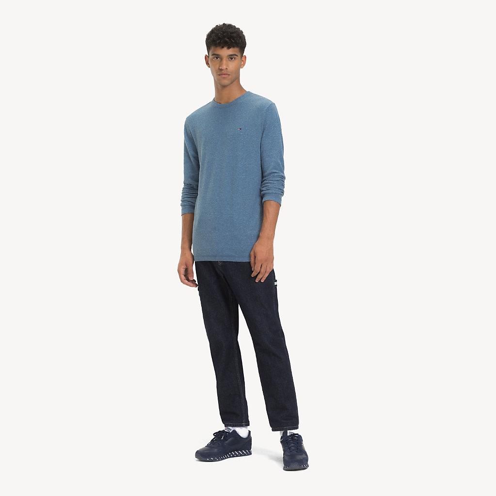 Tommy Hilfiger - T-shirt chiné à manches longues - 3