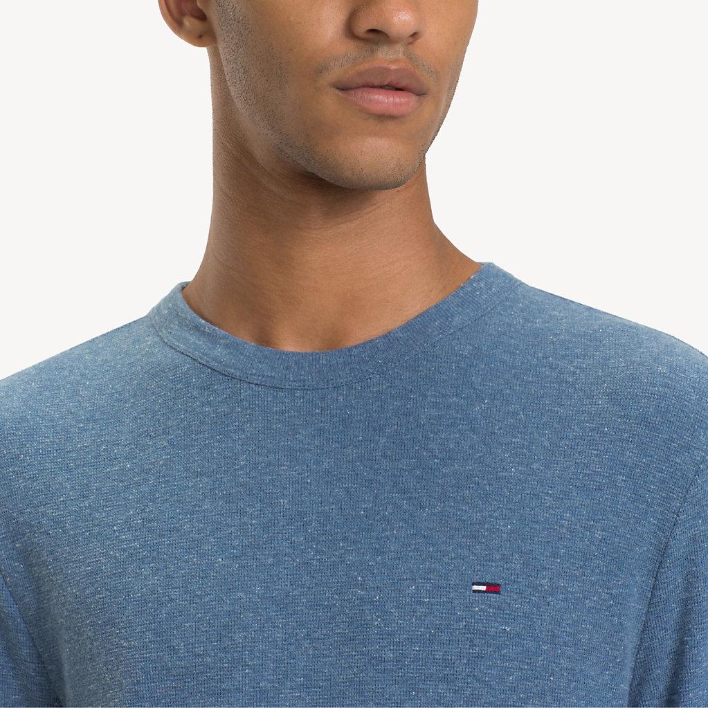 Tommy Hilfiger - T-shirt chiné à manches longues - 4