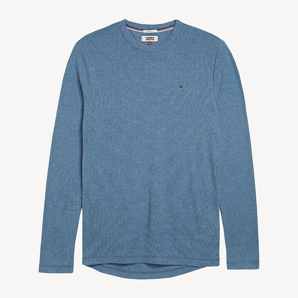 Tommy Hilfiger - T-shirt chiné à manches longues - 5