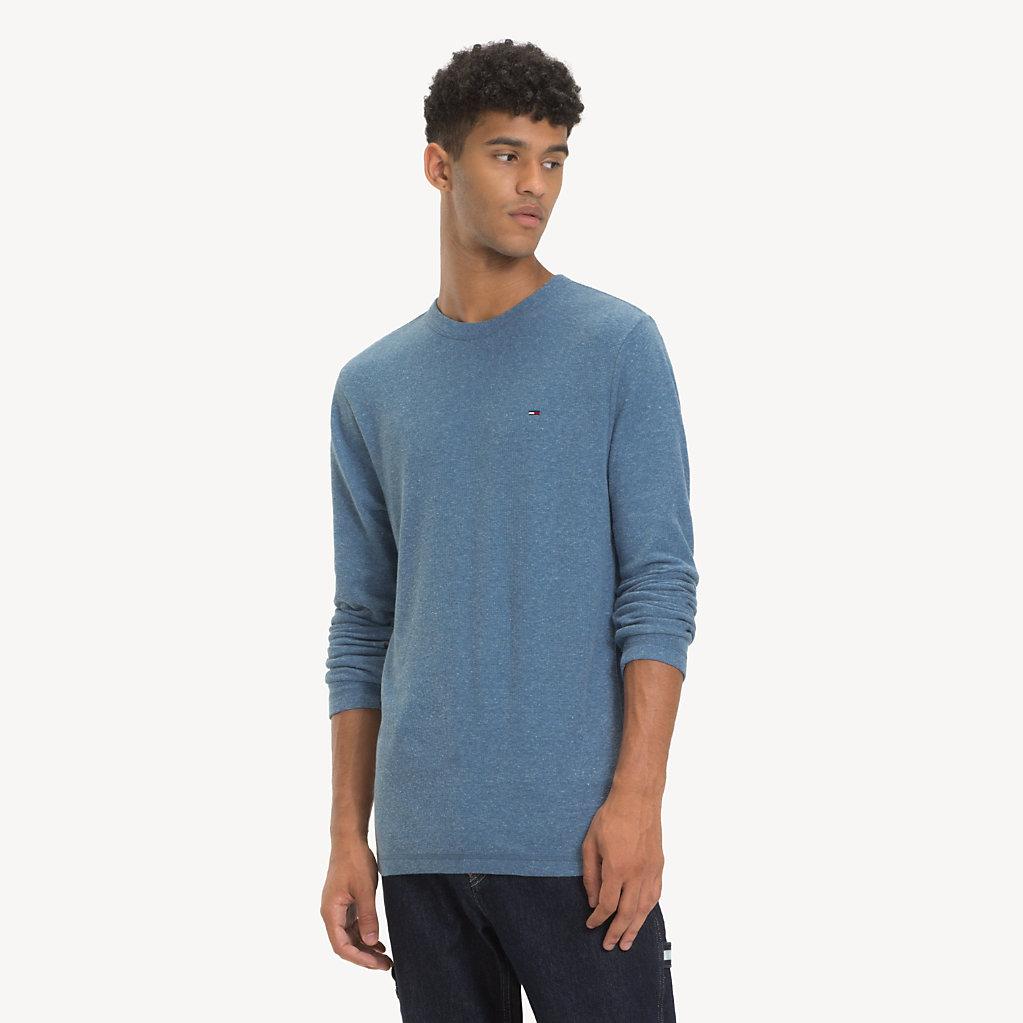 Tommy Hilfiger - T-shirt chiné à manches longues - 1