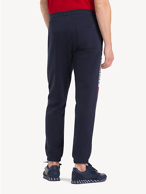 TOMMY JEANS Regular Fit Joggers - BLACK IRIS - TOMMY JEANS Trousers & Shorts - detail image 1