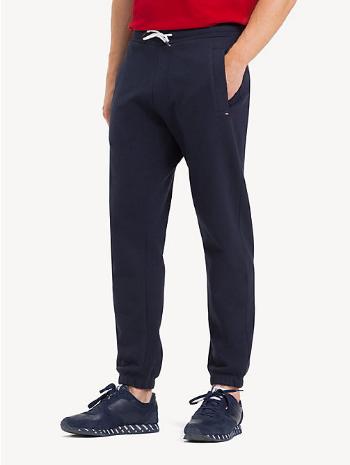 TOMMY JEANS Regular Fit Joggers - BLACK IRIS - TOMMY JEANS Trousers & Shorts - main image