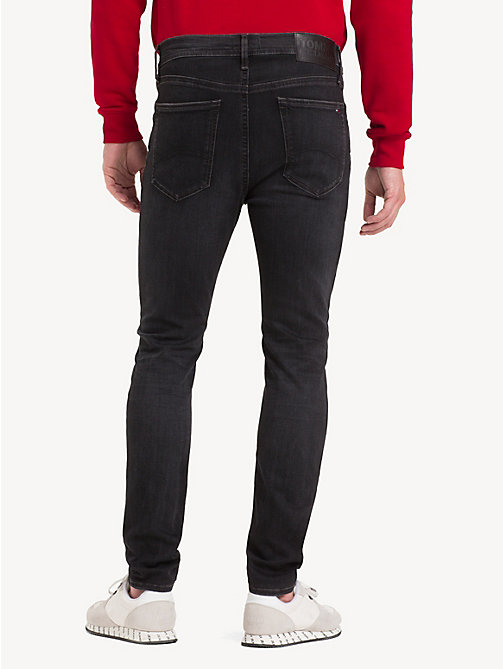 TOMMY JEANS Skinny Fit Stretch Jeans - VERNON BLACK STRETCH - TOMMY JEANS Jeans - detail image 1