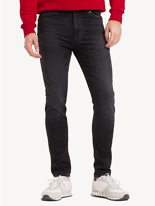 TOMMY JEANS Skinny Fit Stretch Jeans - VERNON BLACK STRETCH - TOMMY JEANS Jeans - main image