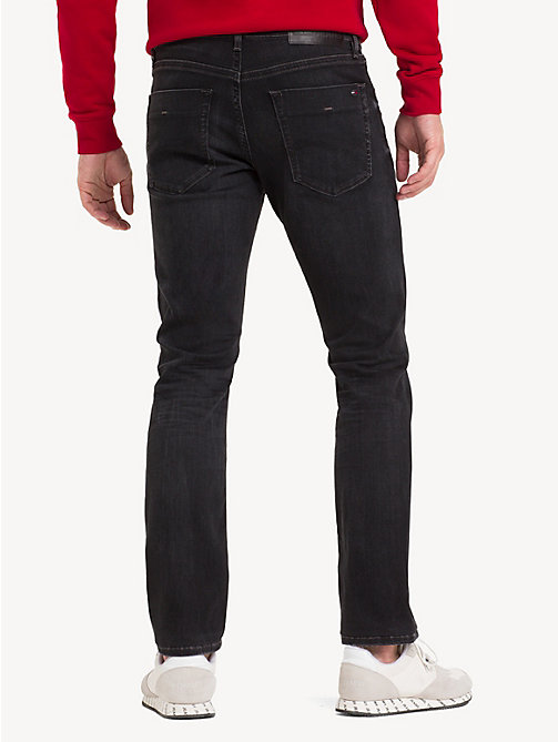 TOMMY JEANS Scanton Slim Fit Jeans - VERNON BLACK STRETCH - TOMMY JEANS Jeans - detail image 1