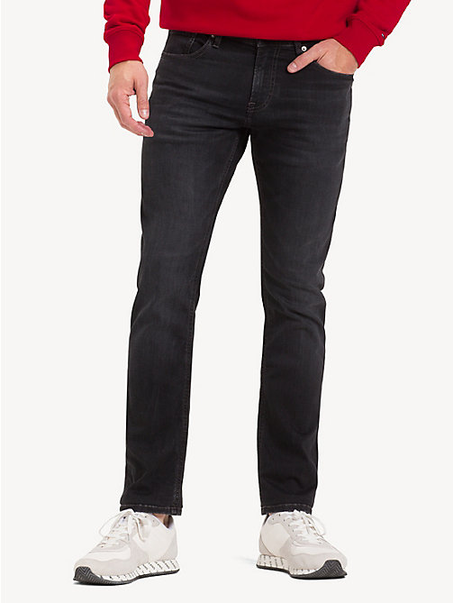 TOMMY JEANS Scanton slim fit jeans - VERNON BLACK STRETCH - TOMMY JEANS Jeans - main image