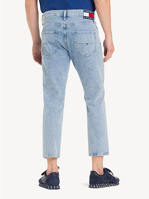 TOMMY JEANS Relaxed Fit Cropped Jeans - EIGHTIES LT BL RIG - TOMMY JEANS Tapered Jeans - detail image 1