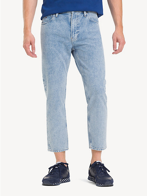 TOMMY JEANS Cropped relaxed fit jeans - EIGHTIES LT BL RIG - TOMMY JEANS Tapered jeans - main image