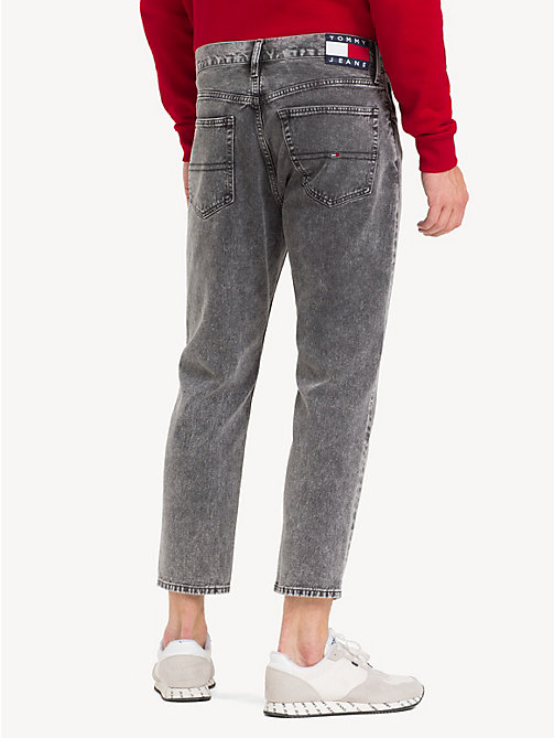 TOMMY JEANS Cropped relaxed fit jeans - NOAH BLACK RIGID - TOMMY JEANS Tapered jeans - detail image 1