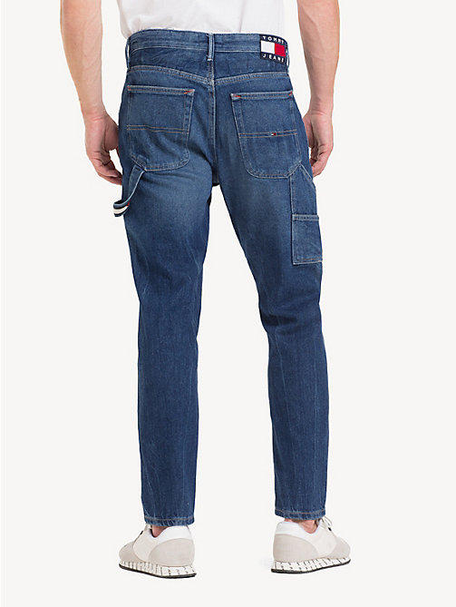 TOMMY JEANS Carpenter Fit Jeans - STONE MID BLUE RIGID - TOMMY JEANS Tapered Jeans - detail image 1