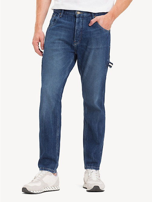 TOMMY JEANS Carpenter Fit Jeans - STONE MID BLUE RIGID - TOMMY JEANS Tapered Jeans - main image