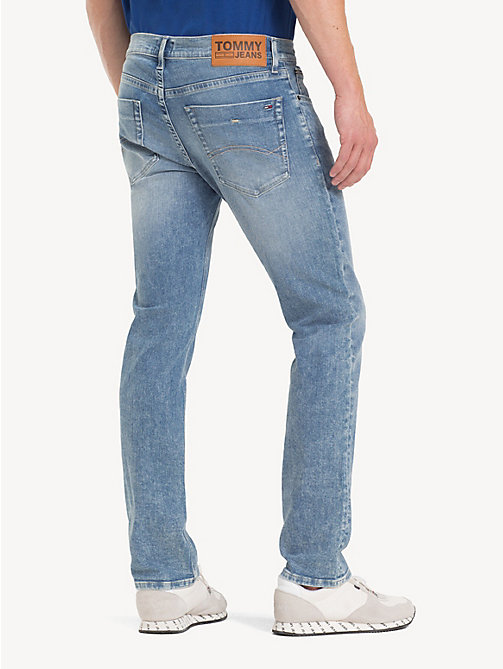 TOMMY JEANS Scanton slim fit jeans - COBALT LIGHT BL ST - TOMMY JEANS Jeans - detail image 1