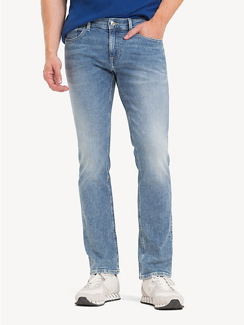 TOMMY JEANS Scanton slim fit jeans - COBALT LIGHT BL ST - TOMMY JEANS Jeans - main image