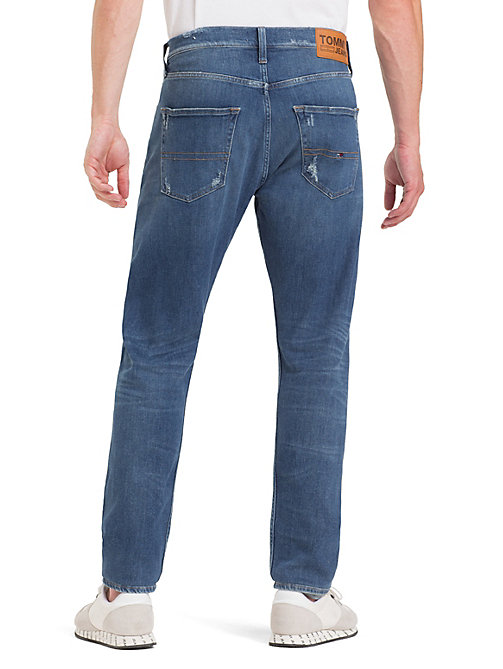 TOMMY JEANS TJ 1988 Tapered Fit Jeans - PERRY MID BLUE COM - TOMMY JEANS Tapered Jeans - detail image 1