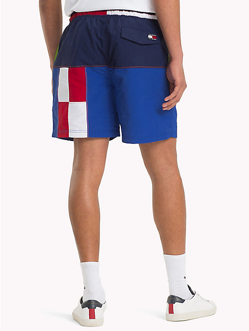 TOMMY JEANS 90s Colour-Blocked Sailing Shorts - PEACOAT / MULTI - TOMMY JEANS Capsule - detail image 1