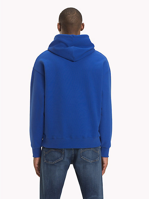 TOMMY JEANS Signature Cotton Hoodie - SURF THE WEB - TOMMY JEANS Sweatshirts & Hoodies - detail image 1