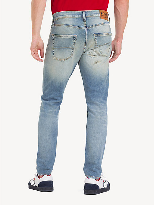 TOMMY JEANS Jeans strappati TJ 1988 - MADISON LIGHT BL RIG DS - TOMMY JEANS Tapered Jeans - dettaglio immagine 1