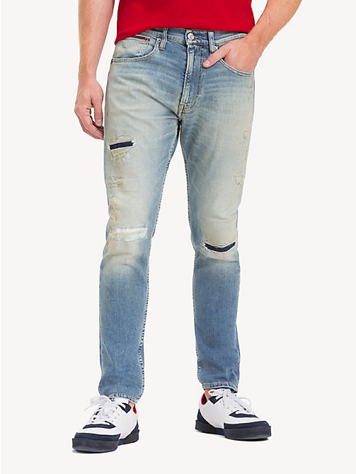 TOMMY JEANS TJ 1988 Ripped Jeans - MADISON LIGHT BL RIG DS - TOMMY JEANS Tapered Jeans - main image