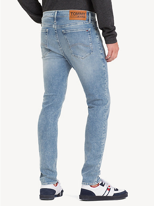 TOMMY JEANS Stretch Skinny Fit Jeans - COBALT LIGHT BL ST - TOMMY JEANS Jeans - detail image 1