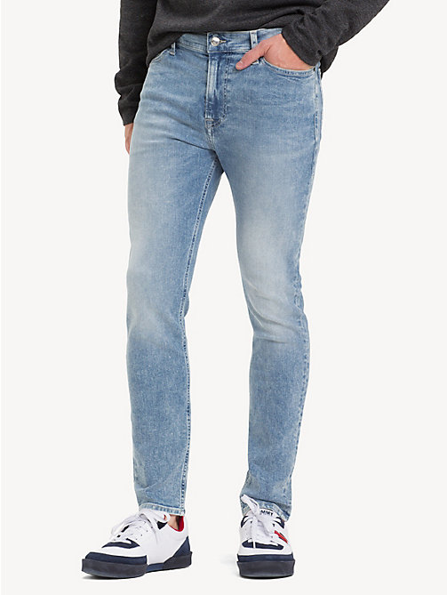 TOMMY JEANS Stretch Skinny Fit Jeans - COBALT LIGHT BL ST - TOMMY JEANS Jeans - main image