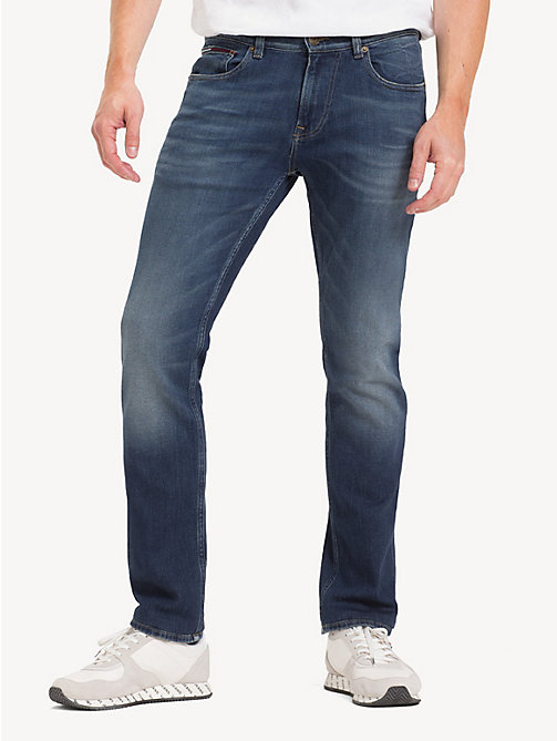 TOMMY JEANS Stretch Slim Fit Jeans - BLAKE DARK BL STR - TOMMY JEANS Jeans - main image