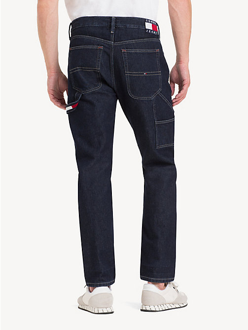 TOMMY JEANS TJ 2003 Carpenter Tapered Fit Jeans - EDITH RINSE BL RIG - TOMMY JEANS Tapered Jeans - detail image 1