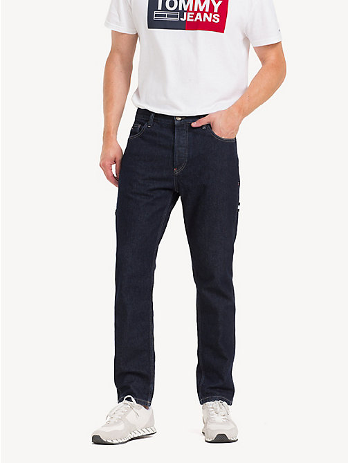 TOMMY JEANS TJ 2003 Carpenter Tapered Fit Jeans - EDITH RINSE BL RIG - TOMMY JEANS Tapered Jeans - main image