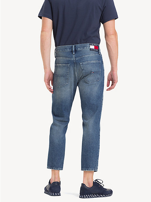 TOMMY JEANS Cropped Relaxed Fit Jeans - NORTH  MID BL RIGID - TOMMY JEANS Tapered Jeans - detail image 1