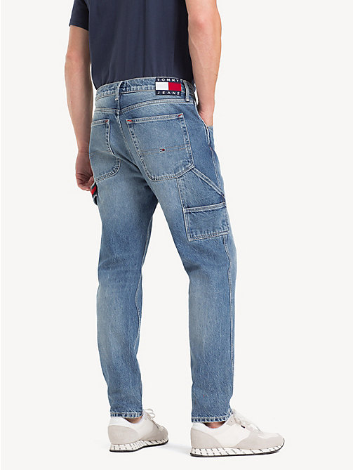TOMMY JEANS TJ 2003 Carpenter Tapered Fit Jeans - PARK LIGHT BL RIG - TOMMY JEANS Tapered Jeans - detail image 1