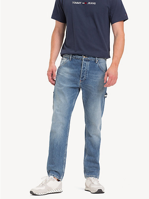 TOMMY JEANS TJ 2003 Carpenter Tapered Fit Jeans - PARK LIGHT BL RIG - TOMMY JEANS Tapered Jeans - main image