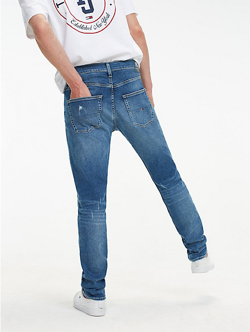 TOMMY JEANS TJ 1988 Tapered Fit Jeans - SPRING MID BL COM DS - TOMMY JEANS Tapered Jeans - detail image 1