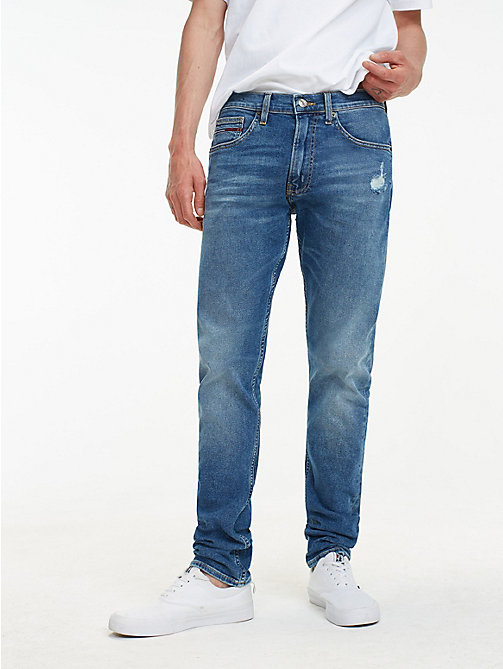 TOMMY JEANS TJ 1988 Tapered Fit Jeans - SPRING MID BL COM DS - TOMMY JEANS Tapered Jeans - main image