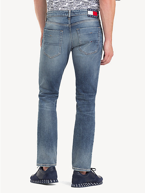 TOMMY JEANS Slim Scanton Jeans - KING MID BLUE STR - TOMMY JEANS Jeans - detail image 1