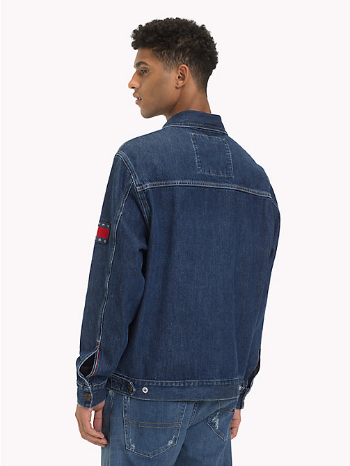 TOMMY JEANS Oversized Acid Wash Denim Jacket - SOLE MID RIGID - TOMMY JEANS Coats & Jackets - detail image 1