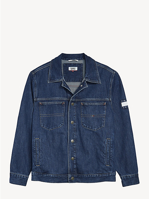 TOMMY JEANS Oversized Denim Jacket - SOLE MID RIGID - TOMMY JEANS Coats & Jackets - detail image 1