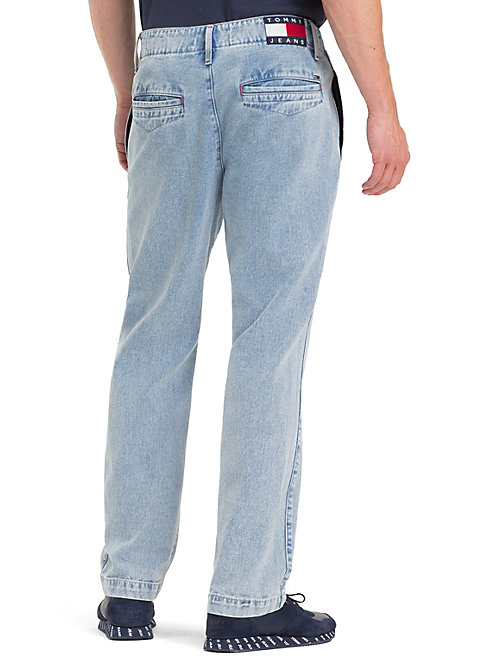 TOMMY JEANS Classic Rigid Chinos - EIGHTIES LT BL RIG - TOMMY JEANS Jeans - detail image 1