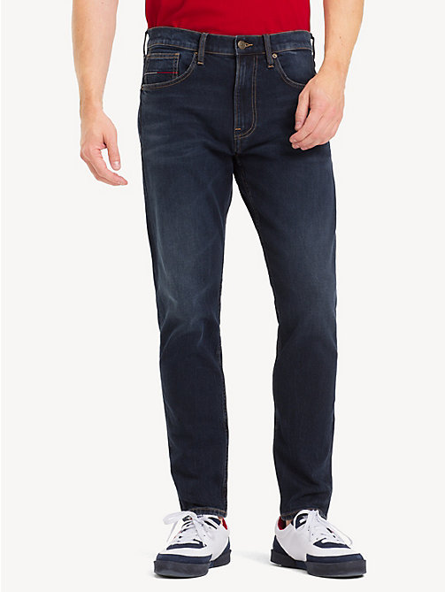TOMMY JEANS TJ 1988 Tapered Fit Jeans - RICK DARK BL COM - TOMMY JEANS Tapered Jeans - main image