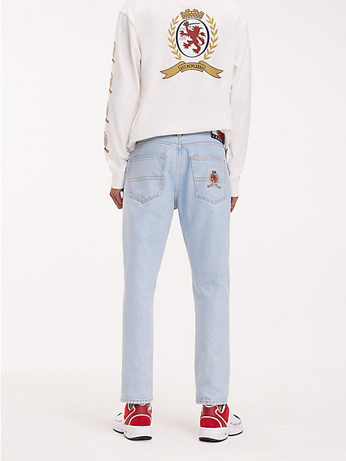TOMMY JEANS Crest Pocket Dad Jeans - LIGHT BLUE DENIM - TOMMY JEANS TOMMY JEANS Capsule - detail image 1