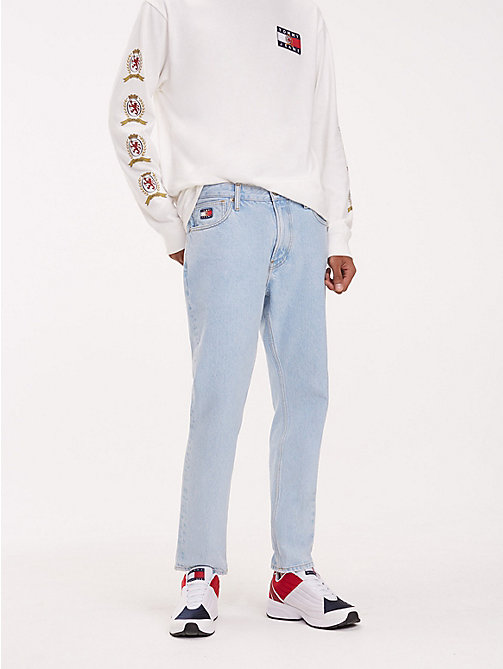 TOMMY JEANS Crest Pocket Dad Jeans - LIGHT BLUE DENIM - TOMMY JEANS TOMMY JEANS Capsule - main image