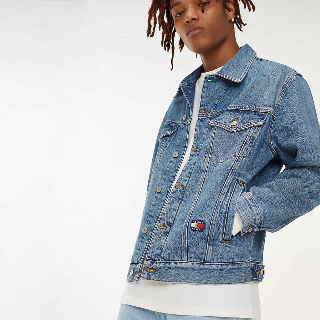 À En Veste Jeans Tommy Logo Denim Blason Tqz4wRz